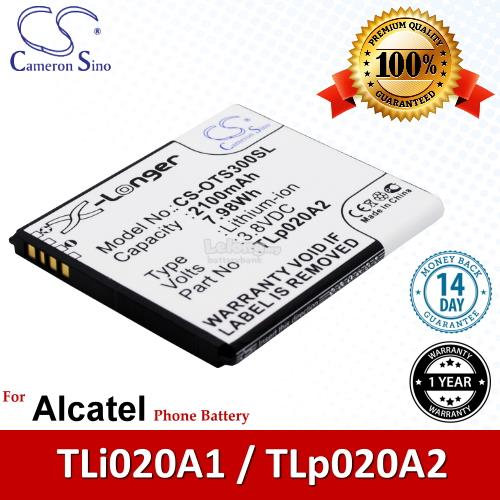 Ori CS OTS300SL Alcatel TLp020A2 / TLi020A1 / A845L OT-A845L Battery