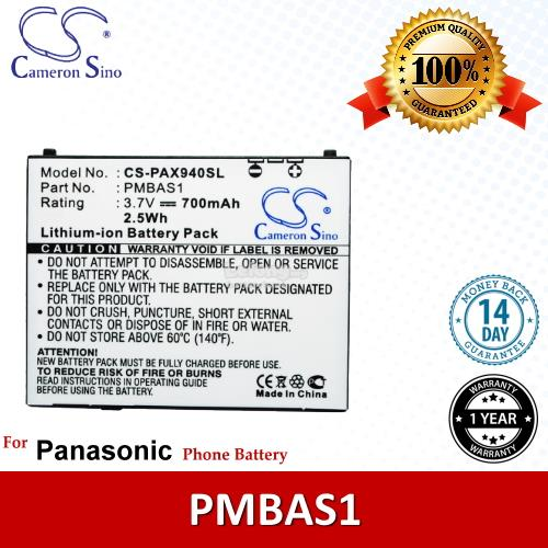 Ori CS PAX940SL Panasonic PMBAS1 / Panasonic VIERA 941P Battery