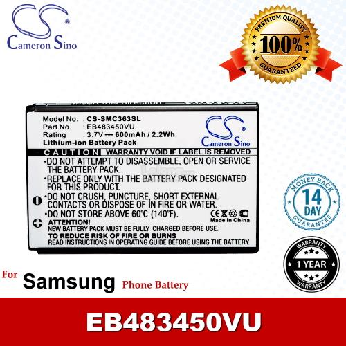 Ori CS SMC363SL Samsung EB483450VU / Shark GT-S5350 Battery