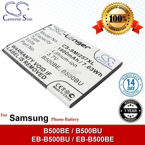 Ori CS SMI257XL Samsung B500BE B500BU EB-B500BU EB-B500BE Battery