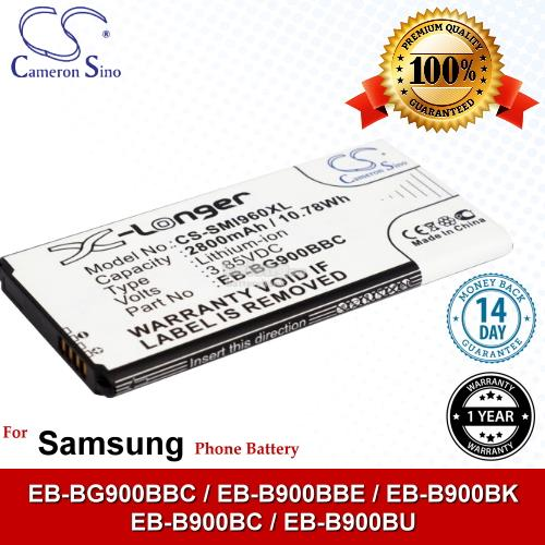 Ori CS SMI960XL Samsung Galaxy S5 4G+ LTE-A SM-G901F Battery