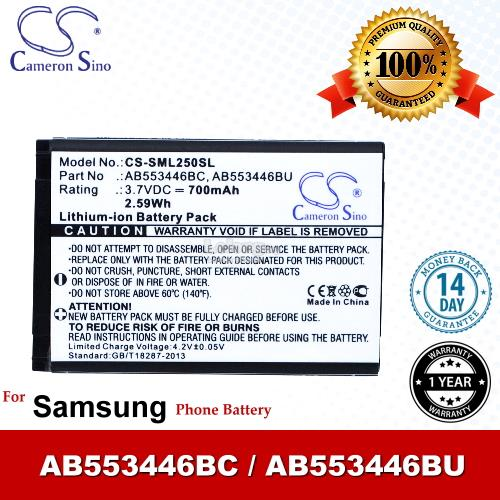 Ori CS SML250SL Samsung Champ GT-C3300 GT-C3300K Battery
