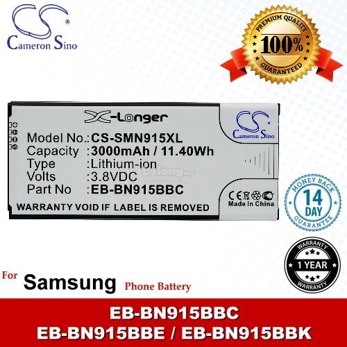 Ori CS SMN915XL Samsung Galaxy Note Edge 4G TD-LTE SM-N915P Battery