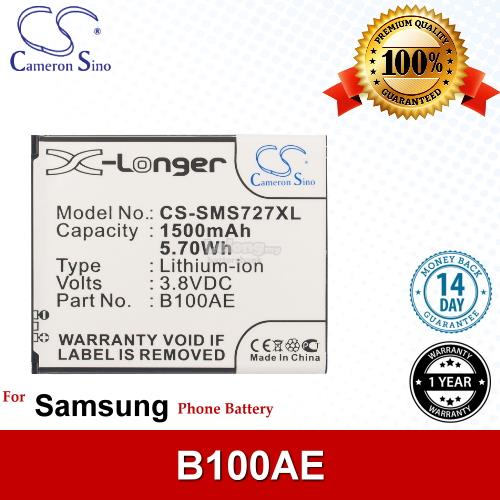 Ori CS SMS727XL Samsung Galaxy Star Plus GT-S7260 GT-S7262 Battery