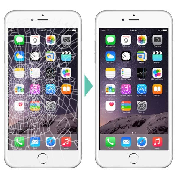 Ori Iphone 5 / 5S / 6 / 6 Plus / 6S / 6S Plus Lcd Screen Crack Repair