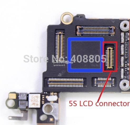 how to fix iphone lcd connector