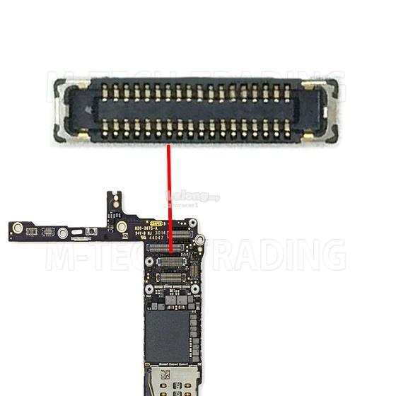 low priced 66c5b 2fe6c Ori Iphone 6 / 6 Plus Lcd Connector Sparepart Repair Service