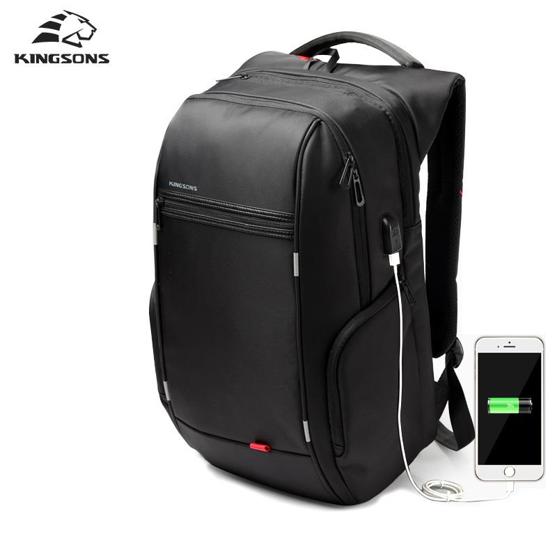 ORI KINGSONS WATERPROOF BACKPACK LAPTOP BACK WITH USB PORT