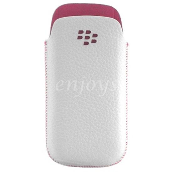 ORI Leather Slot in Pouch Pocket BlackBerry Pearl 3G 9100 9105 ~2.25""