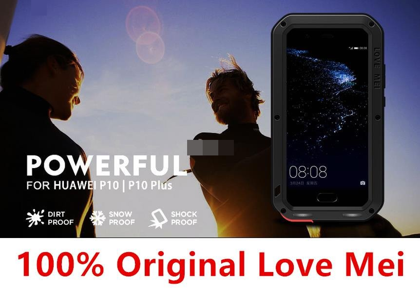 Ori Love Mei Huawei P10 / Plus 360 Protection Armor Case Cover Casing