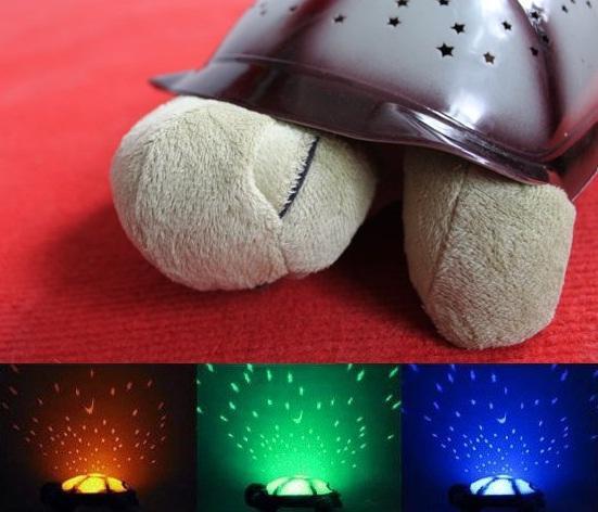 ORI Music Turtle LED Night Lamp Light Star Projector Baby Sleep Toy. U2039 U203a