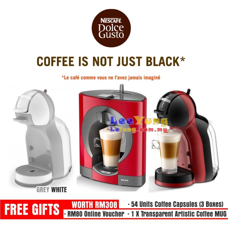 Krups Dolce Gusto Oblo Coffee Maker Reviews : Ori Nescafe KRUPS Dolce Gusto Mini (end 11/6/2018 10:15 PM)
