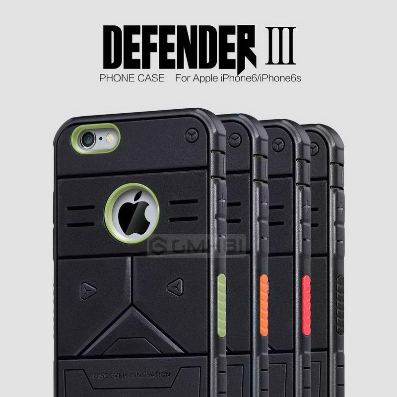 e84897a6dd ORI Nillkin Defender 3 Armor Bumper Cover Case Apple iPhone 6 6s Plus. ‹ ›