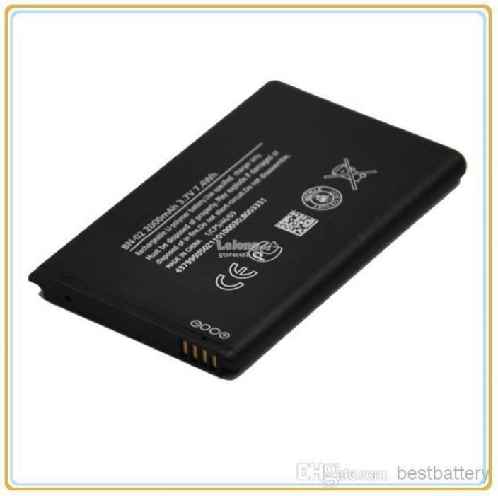 Ori Nokia XL BN-02 Battery Replacement Sparepart Repair 2000 mAh