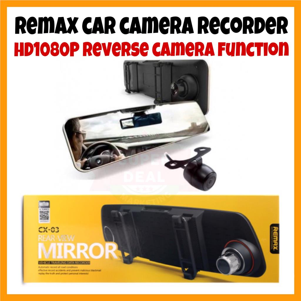 NEW ORI Remax CX-03 Car Camera HD1080P Car Recorder Video Recorder