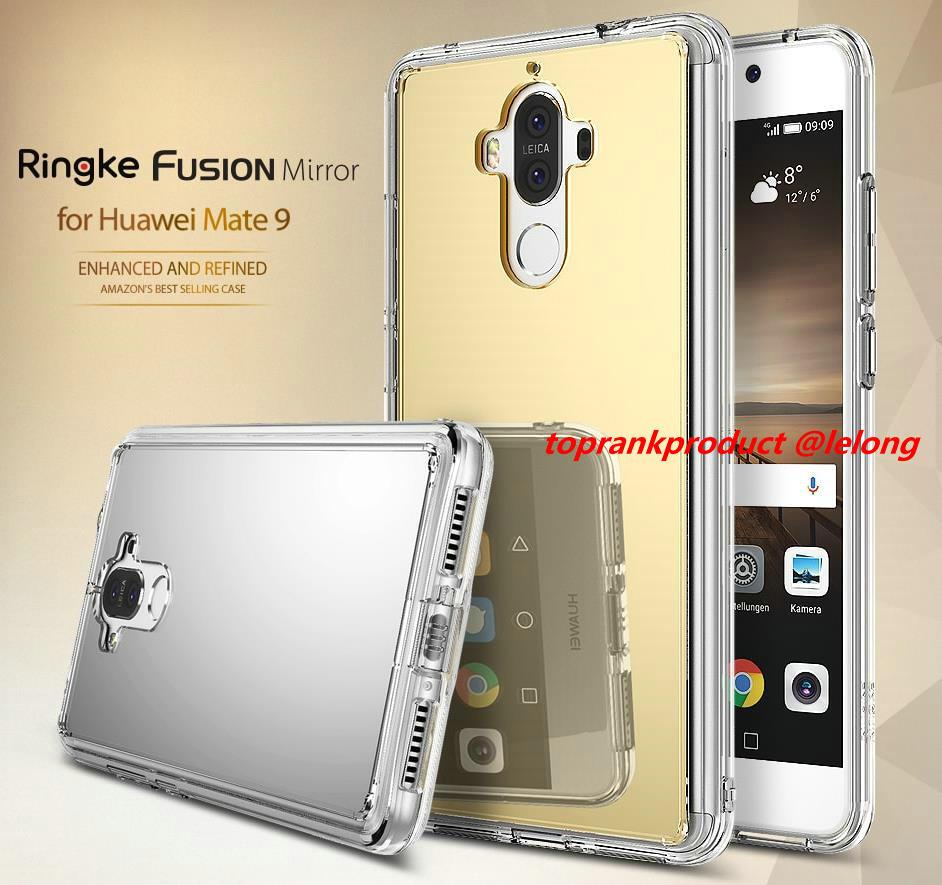 Ori Ringke Huawei Mate 9 FUSION MIRROR Bright Luxury Case Cover Casing
