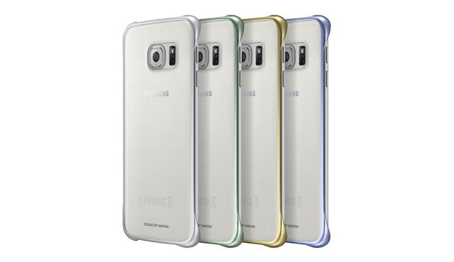 super popular e560d 42b38 Ori Samsung Galaxy S6 S7 Edge + Note 5 Transparent Clear Cover Case