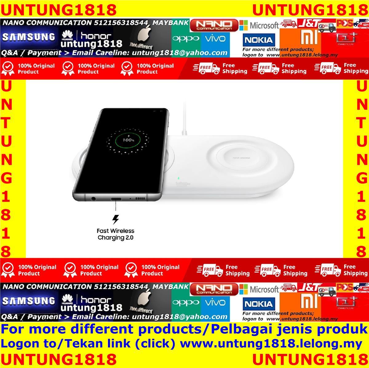 Ori Samsung.Samsung Galaxy S10+ S10 S10e Wireless Charger Duo Pad 2019