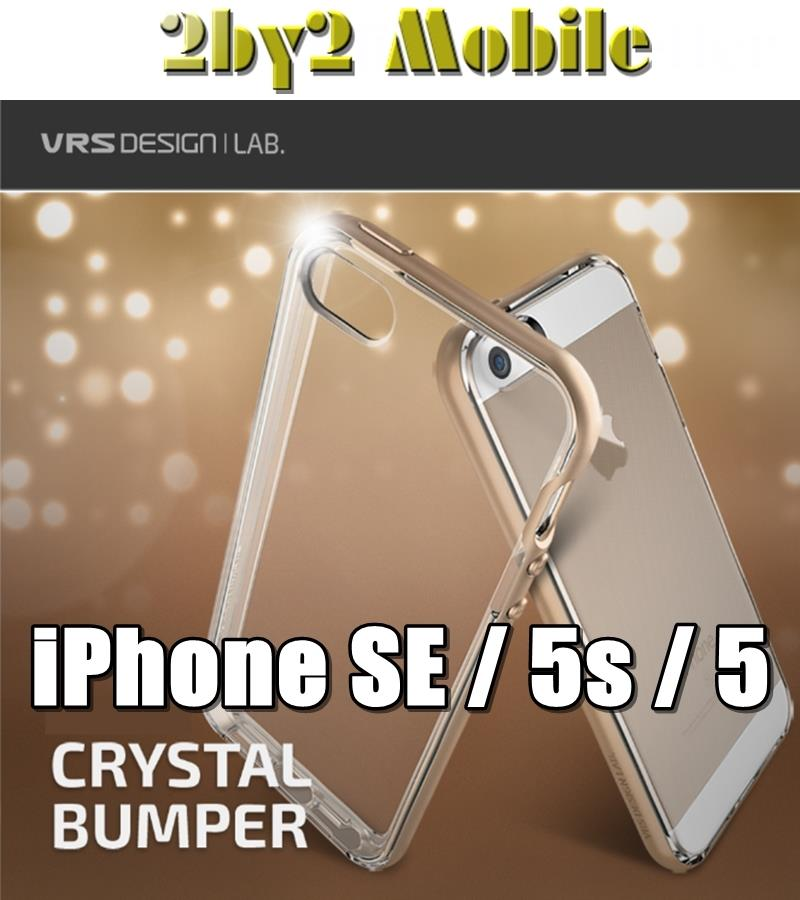 designer fashion 23fa8 e0787 [Ori] Verus VRS Design Crystal Bumper iPhone SE / 5s / 5 case CSTOCK