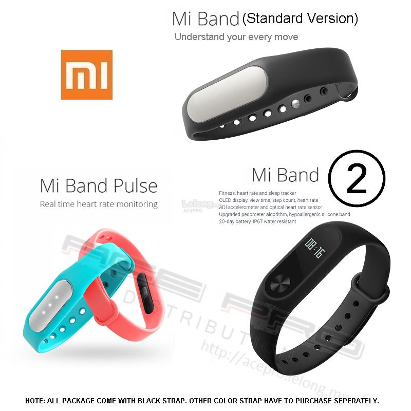 a06bd3c6427576 Ori XIAOMI Xiao Mi Band 1 1A 1S Pulse 2 Smart Wrist Heart Rate OLED. ‹ ›