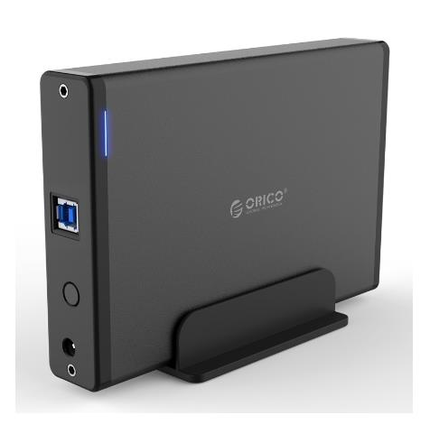 ORICO 3.5 INCH USB3.0 HDD ENCLOSURE WITH STAND 7688U3 BLACK