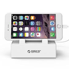ORICO CHARGING STATION 4 PORT 2.4A WITH STAND CHARGER (ORI-OPC-4US-WH)