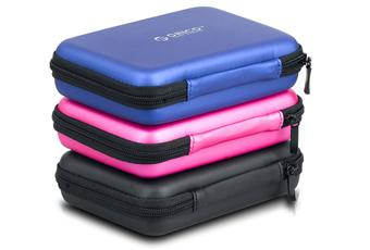 ORICO HDD CARRYING POUCH (PHB-25) BLACK/BLUE/PINK