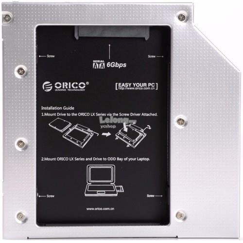 Orico Laptop Hard Drive Mount for 9.5mm Optical Drive Bay (L95SS)