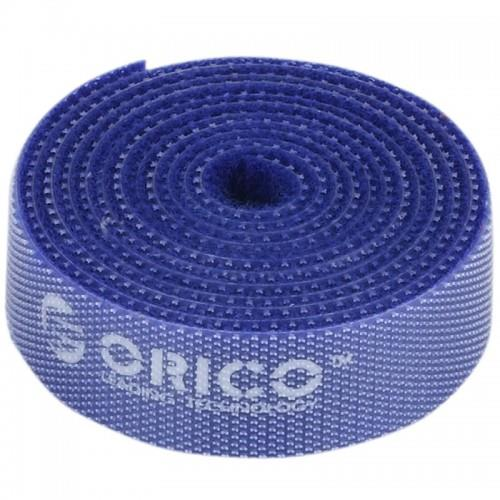 Orico  Reusable Velcro Cable Ties 1M - Blue (CBT-1S)