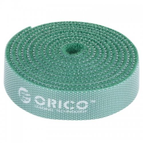 Orico  Reusable Velcro Cable Ties 1M - Green (CBT-1S)