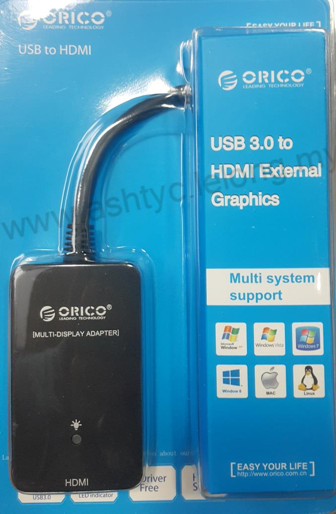 ORICO USB3.0 to HDMI External Graphics Adapter (DU3H)