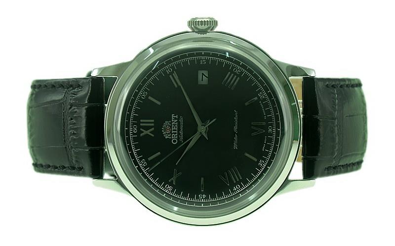ORIENT Men Automatic 2nd Generation Bambino Leather Watch FAC0000AB