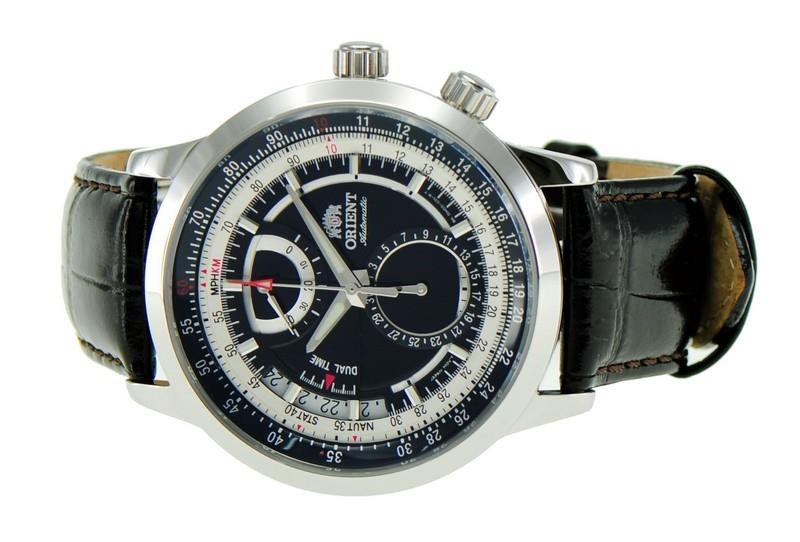 Automatic Leather Sapphire Men Cdh00002b Watch Orient Explorer ID9eE2WHY
