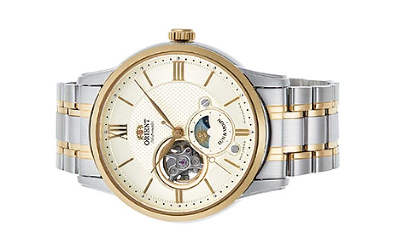 ORIENT Men Mechanical Sun Moon Collection RA-AS0001S