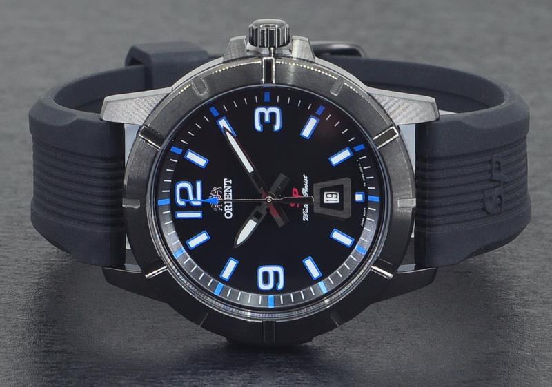 3e32a3625 ORIENT Men Quartz SP Sport Collection Rubber Strap Watch FUNE9007B. ‹ ›