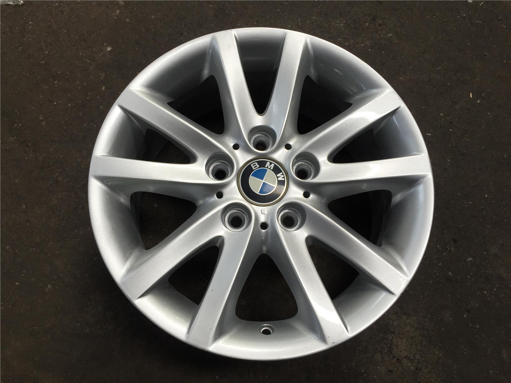 machined rear bmw rim oem black with wheel style styles