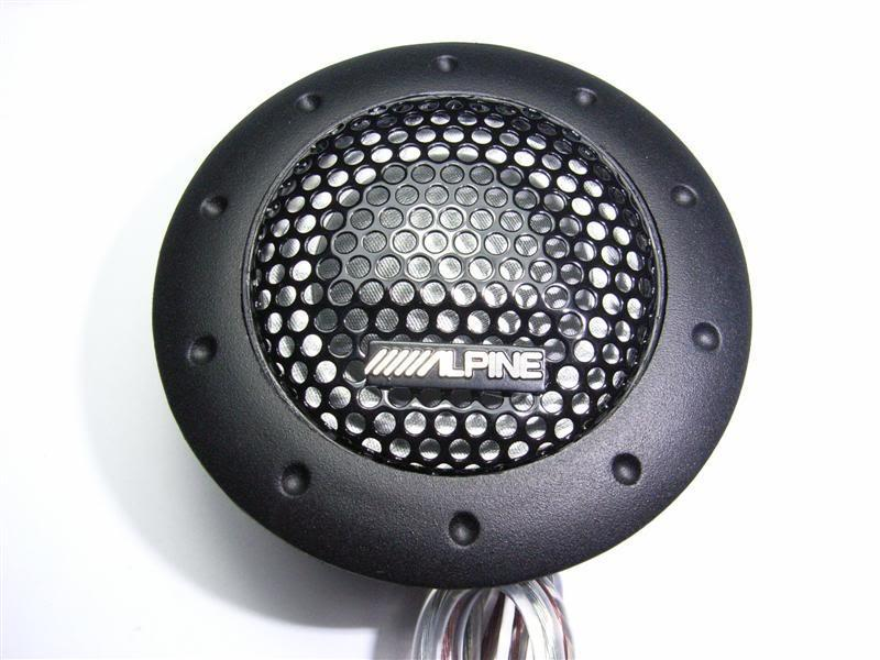 ORIGINAL 2009 ALPINE DDT-S30 50W RMS Soft Dome Tweeter Made In Japan
