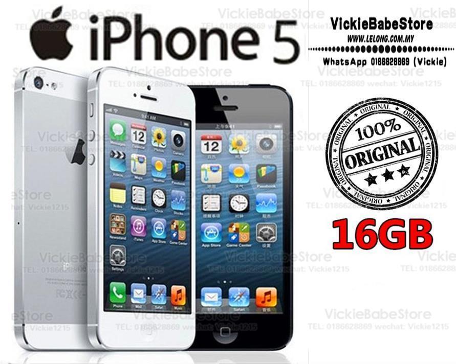 Original APPLE iPhone 5 16GB Black   (end 4 15 2019 9 15 AM) dad2eda5cf