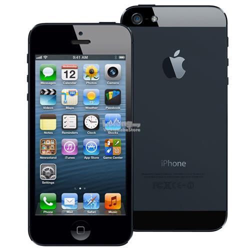 Original APPLE iPhone 5 16GB Black   White New IMPORTED Seal Pack b964c75def