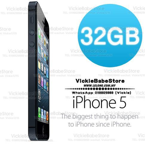 Original APPLE iPhone 5 32GB Black   (end 2 14 2020 2 15 PM) a6b276799a