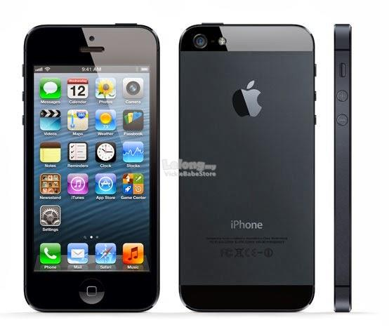 Original APPLE iPhone 5 32GB Black   White New IMPORTED Seal Pack 99d6b3b20a
