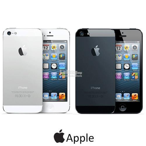 Original APPLE iPhone 5 32GB Black   White New IMPORTED Seal Pack ed944bdd4d