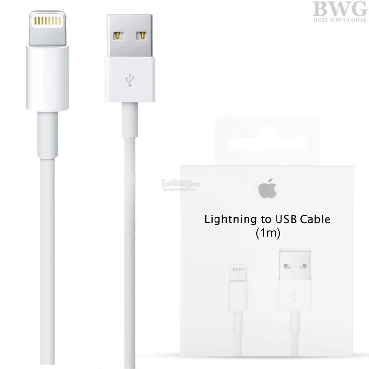 apple lightning cable. original apple iphone 5/5s/6/6 plus/7/7 plus lightning cable