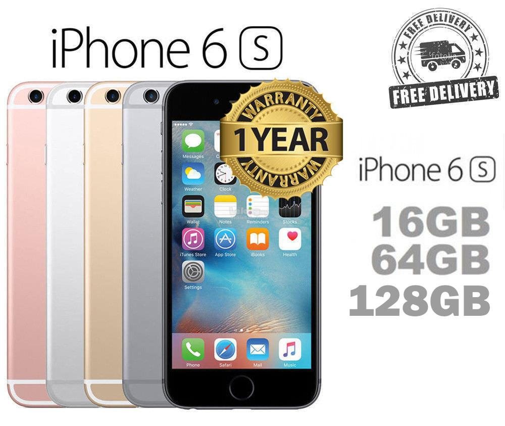 Original Apple iPhone 6s LTE 128GB FingerPrints New Seal Box. ‹ › d16665cb3b03