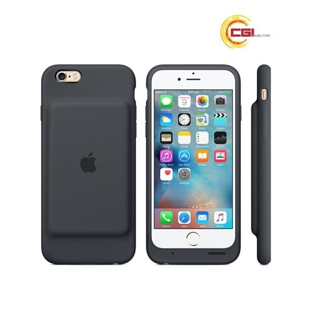 size 40 71e2e 5e02e (Original)Apple iPhone 6s Smart Battery Case-Charcoal Gray (MGQL2ZA/A)
