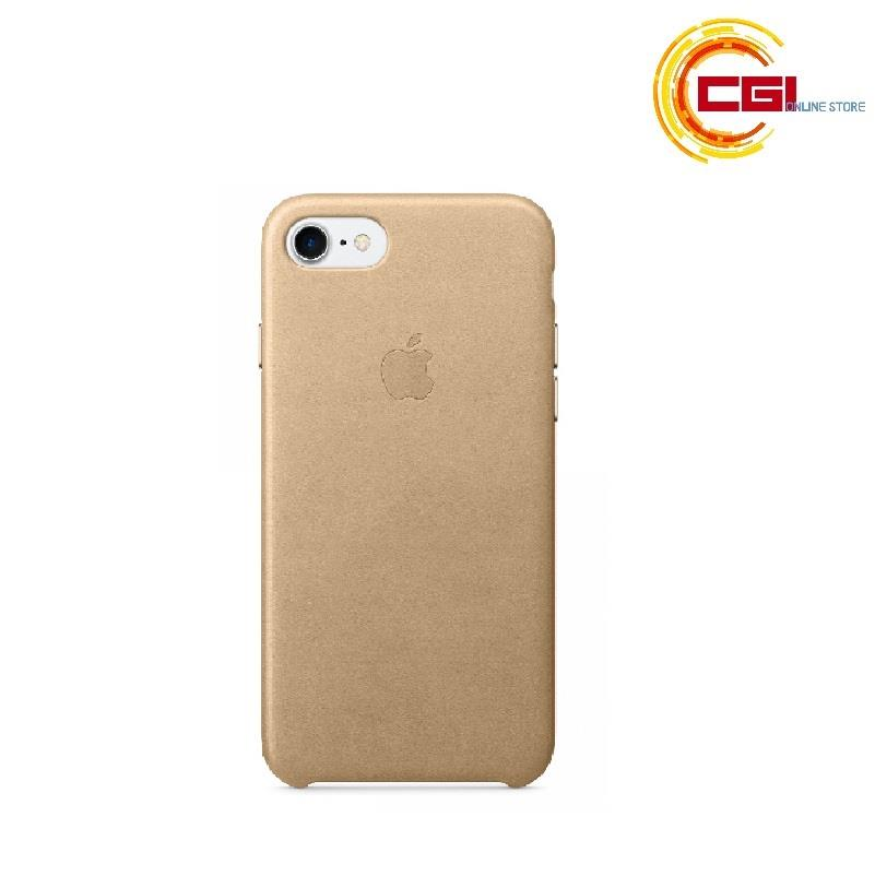 huge selection of 567c4 3571c (Original) Apple iPhone 7 Leather Case - Tan (MMY72FE/A)