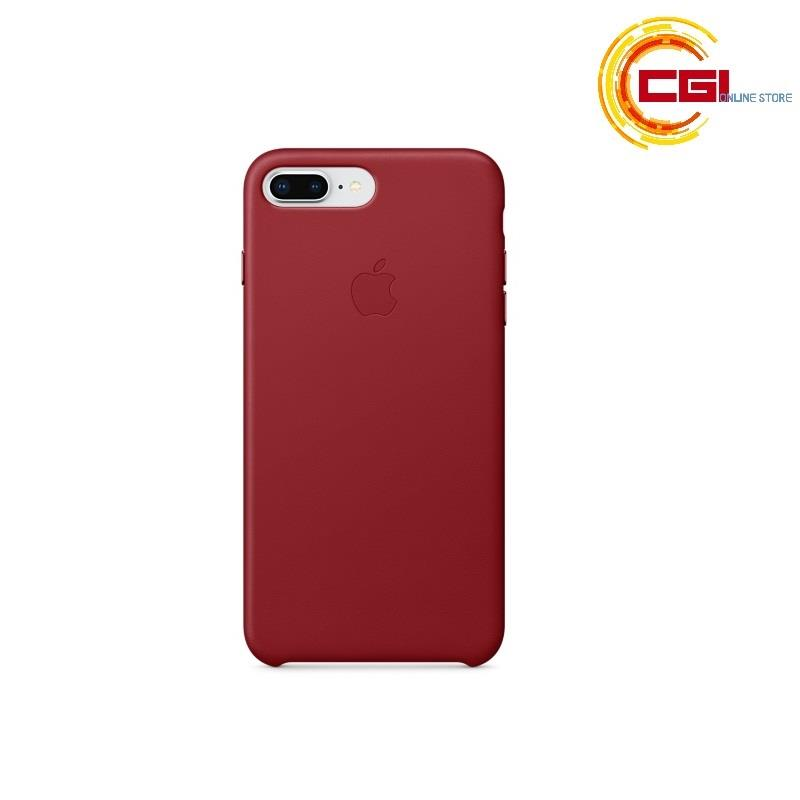 the best attitude d85cc e40ac (Original) Apple iPhone 7 Plus Leather Case - Red (MMYK2FE/A)