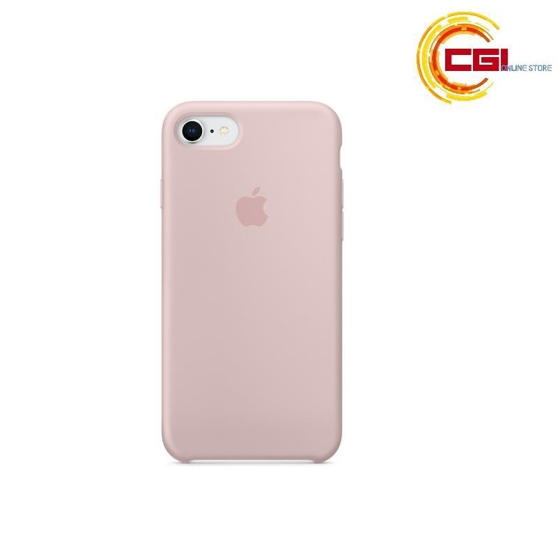 uk availability abd71 74285 (Original) Apple iPhone 8 Silicone Case - Pink Sand (MQGQ2FE/A)