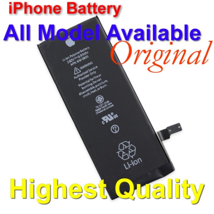 ORIGINAL Apple iPhone Battery - iPhone 6 plus 5 5S 4 5C *All Available