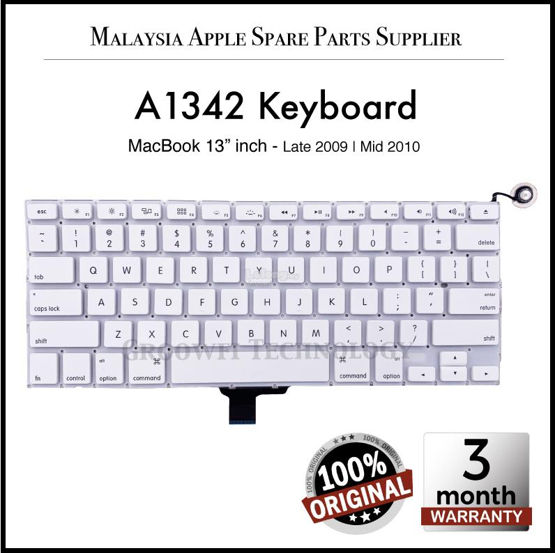 New Original Apple MacBook 13'inch A1342 2009 2010 US Keyboard